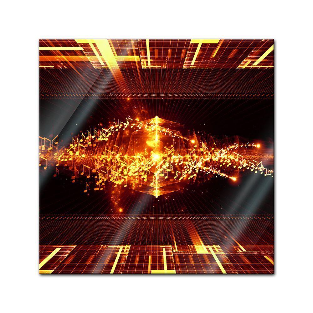 Immagine di vetro-Arte astratta li