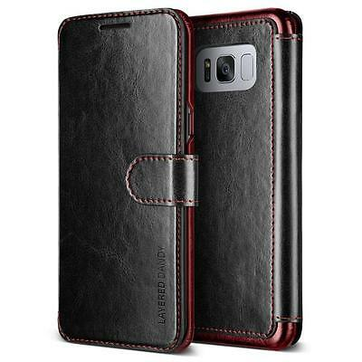 Galaxy S8 S8 Plus Case Genuine VERUS Dandy Leather Layered Wallet For Samsung