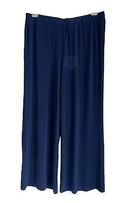 Freundlich Neu Übergröße Elegante Damen Jersey Stretch Hose D.blau Marlene Style Gr.50,54 Up-To-Date-Styling
