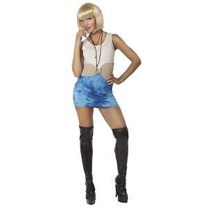 0937cf8f400 Details about Adult Womens Pretty Woman Lady Costume Dress Dancer Model  90's Halloween S M L