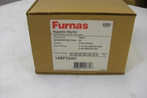 New Furnas 14BP32AC Magnetic Starter 3 Phase