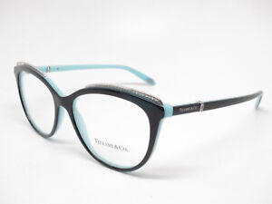 Tiffany   Co TF 2147-B 8055 Black   Blue Eyeglasses 54mm ... 9269f5d693