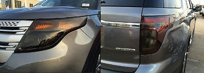 2016 2017 2018 Ford Explorer Reverse Light Precut Smoke Tint Vinyl Overlays
