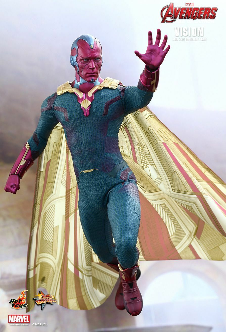 Hot Toys 1/6 Marvel Avengers Age of Ultron MMS296 Vision 12