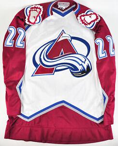 Authentic-NHL-Hockey-Jersey-Colorado-Avalanche-Claude-Lemieux-CCM-Center-Ice-22