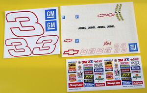 RC-Nascar-039-GOODWRENCH-039-Earnhardt-3-style-stickers-decals-Tamiya-Xray-TC5-Kyosho