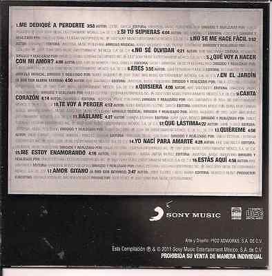 rare BALADA 90 80 CD sleeve ALEJANDRO FERNANDEZ Me dedique a ...