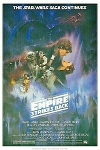 STAR WARS POSTER  24 X 36  FREE SHIPPING