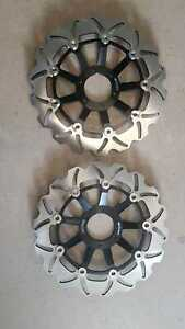 Destockage-disques-de-frein-avant-Honda-CB-600-Hornet-1998-1999