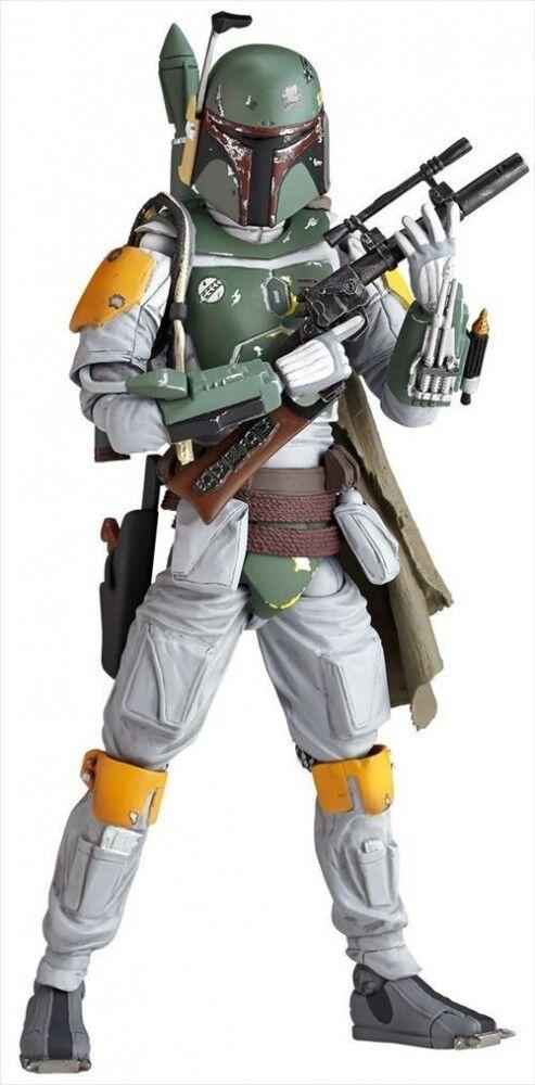 Kaiyodo cifra  complex estrella guerras Revoltech Boba Fett cifra JAPAN F S J6441  alta qualità