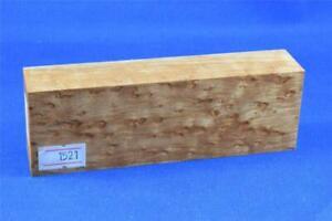 Stabilized-Birdseye-Maple-Knife-Scales-Handle-Block-Pen-1521