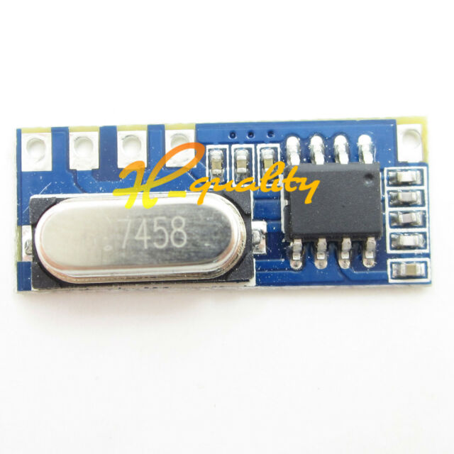 2PCS LR45B 433MHz ASK Superheterodyne Wireless Receiver Module 4.5-5.5V
