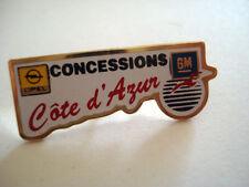 PINS CONCESSIONS COTE D AZUR OPEL GM GARAGE AUTO