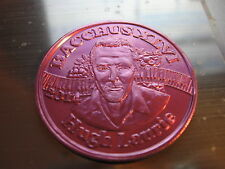 Mardi Gras doubloon 2014 Bacchus King Hugh Laurie * Star of House *