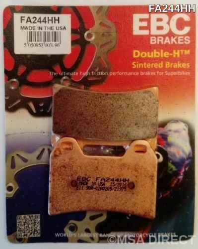 EBC Sintered FRONT Disc Brake Pads 1 Set MOTORRAD GUZZI V7 (2008 to 2020)