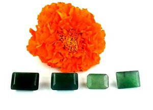 Colombian 28.15 Ct Green Emerald Natural Gemstone Lot Mix Shape Certified X9865