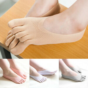 Women-039-s-Ankle-Invisible-Five-Finger-Toe-Socks-No-Show-Low-Cut-Boat-Sock-1Pair