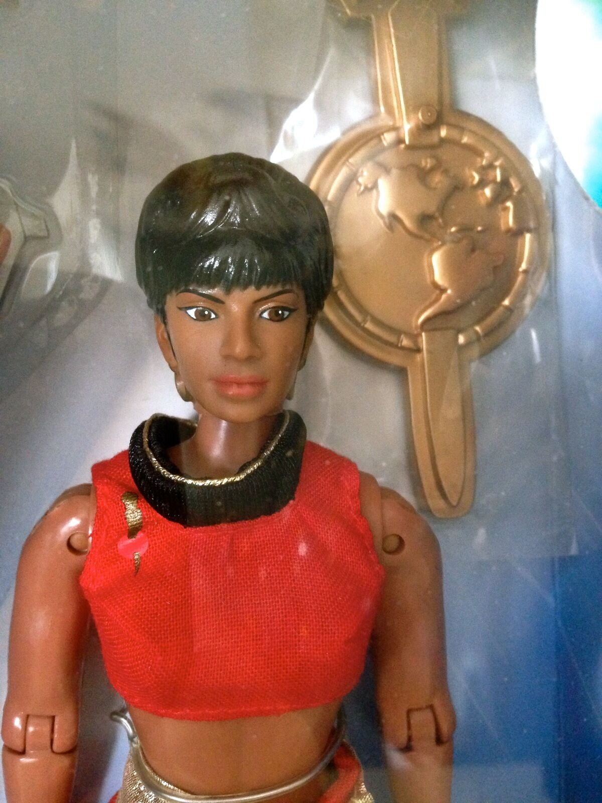 STAR TREK LIEUTENANT UHURA 9 . PLAYMATES. KB EXCLUSIVE. FROM MIRROR, MIRROR.