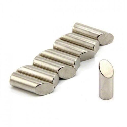 Haftkraft 3,6kg 8 x Stabmagnet Ø10 x 30mm Neodym N42 – Süd mit Gehrung 45°