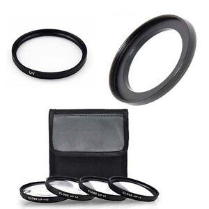 Makro-Close-Up-Lens-Set-UV-Ring-fuer-Canon-PowerShot-sx530-HS-sx540-HS
