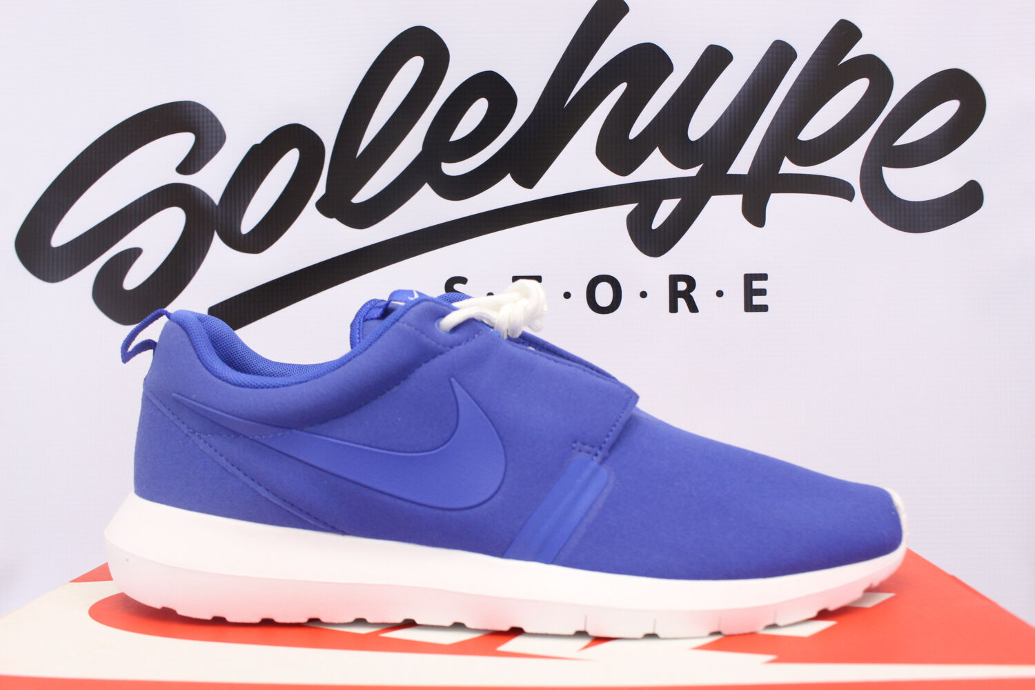 NIKE ROSHERUN NM NATURAL MOTION ROYAL blueE WHITE ROSHE 631749 441 SZ 11.5