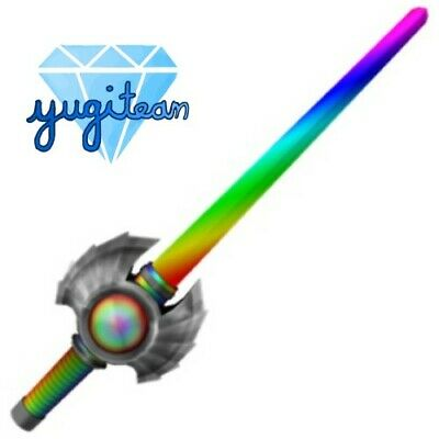 Read Desc Rainbow Saber Dream Knife Assassin Roblox Ebay