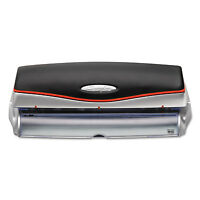 Swingline 20-sheet Optima Electric/battery Three-hole Punch 9/32 Holes Silver on Sale