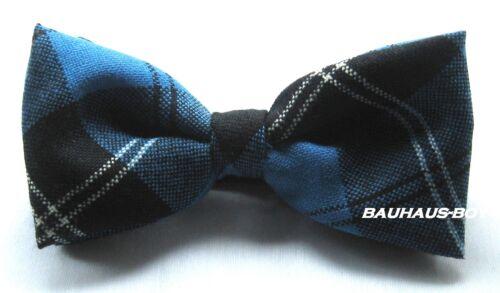 Noeud papillon antique Ramsay Bleu Tartan Laine Peignée made in Scotland kiltwear Kilts