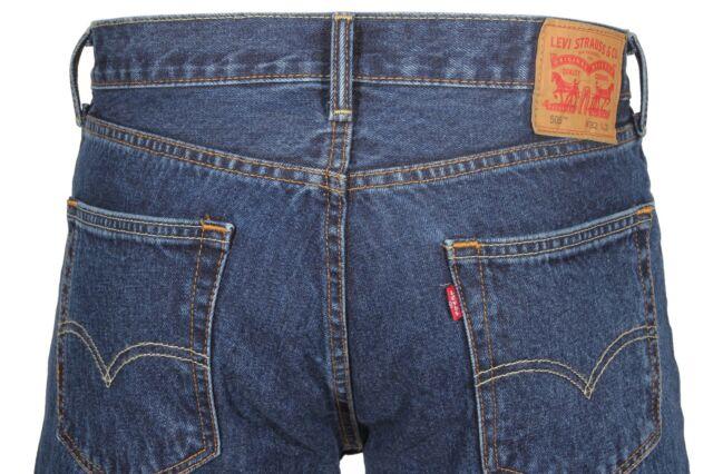 876b487d153 Levi's Men's 505 Regular Fit Jean, Dark Stonewash, 34Wx30L for sale ...
