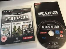 * Playstation 3 Game * METAL GEAR SOLID HD  COLLECTION * PS3