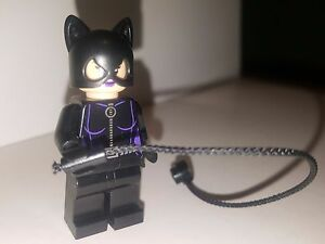 LEGO-DC-Comics-Batman-Villain-Catwoman-Minifigure-Loose-Mini-Figure