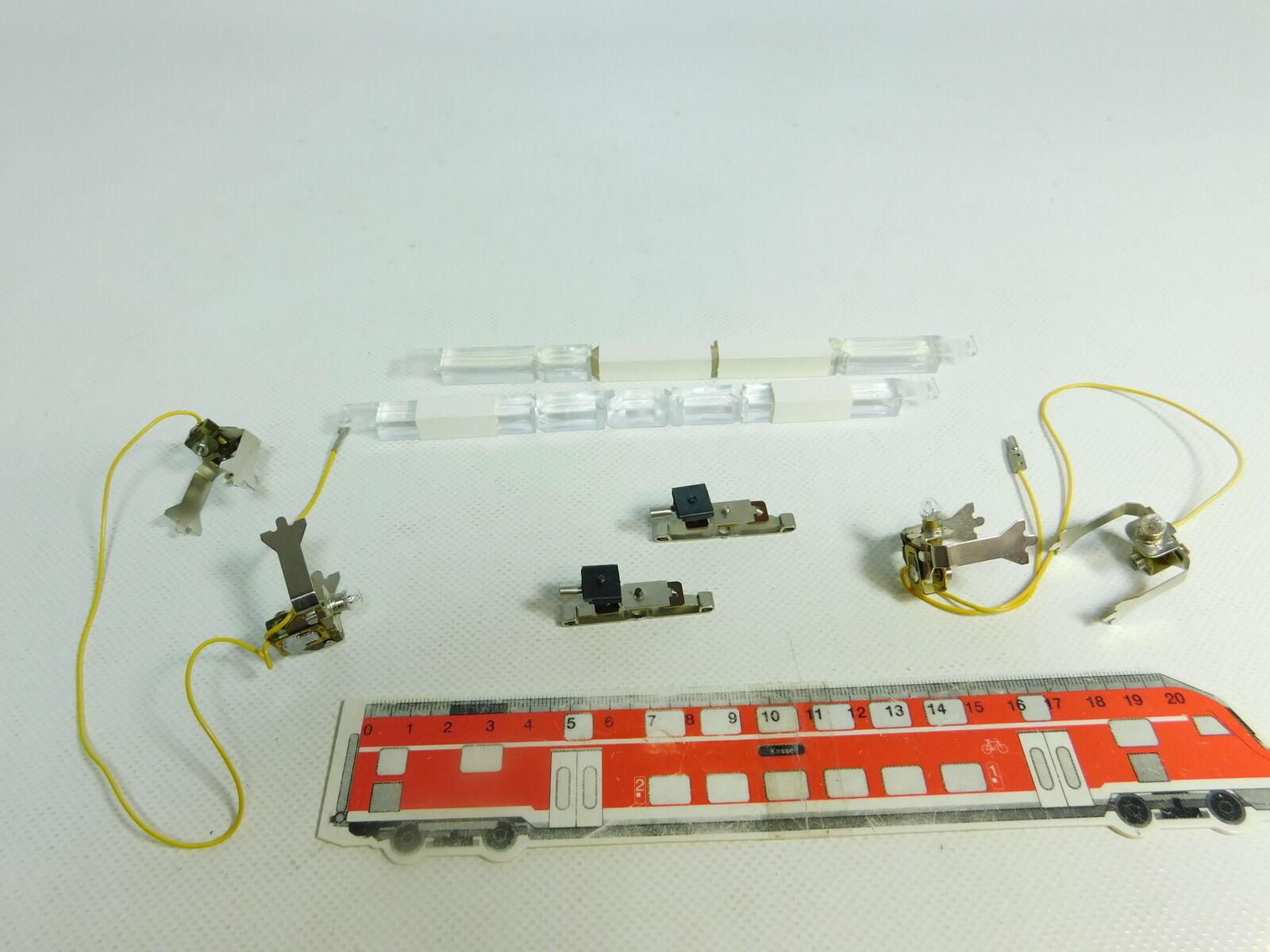BR171-0,5 Carroza  2x Märklin H0 Ac 7197 Illuminazione per Carroza BR171-0,5 Testato, Nuovo 21f204