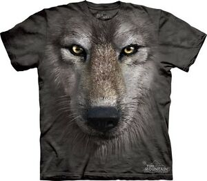 Colored Wolf T-Shirt Tamaños S-5XL 4uqBUwx1