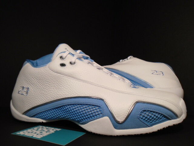 2006 Nike Air Jordan XX1 XXI 21 Low WHITE UNIVERSITY blueE SILVER 313529-142 11.5