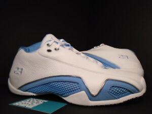 7249664fb7bdad 2006 Nike Air Jordan XX1 XXI 21 Low WHITE UNIVERSITY BLUE SILVER ...