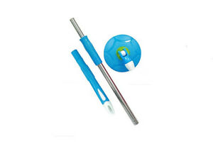 360 degree Magic Mop rotating Rod set steel rod set with dish ,best mop Blue