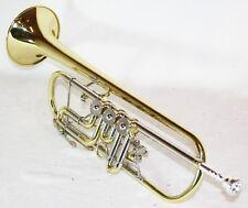 Cherrystone Bb Konzert Trompete mit Koffer, Drehventile