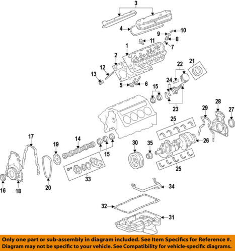GM OEM-Engine Valve Cover 12642655