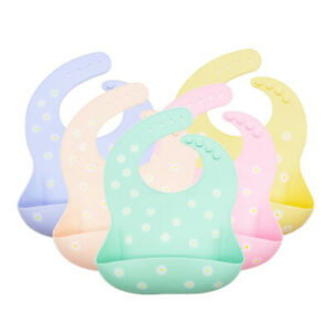 Silicone-Baby-Bibs-BPA-Free-Waterproof-Soft-Durable-Adjustable-Babies-amp-Toddlers