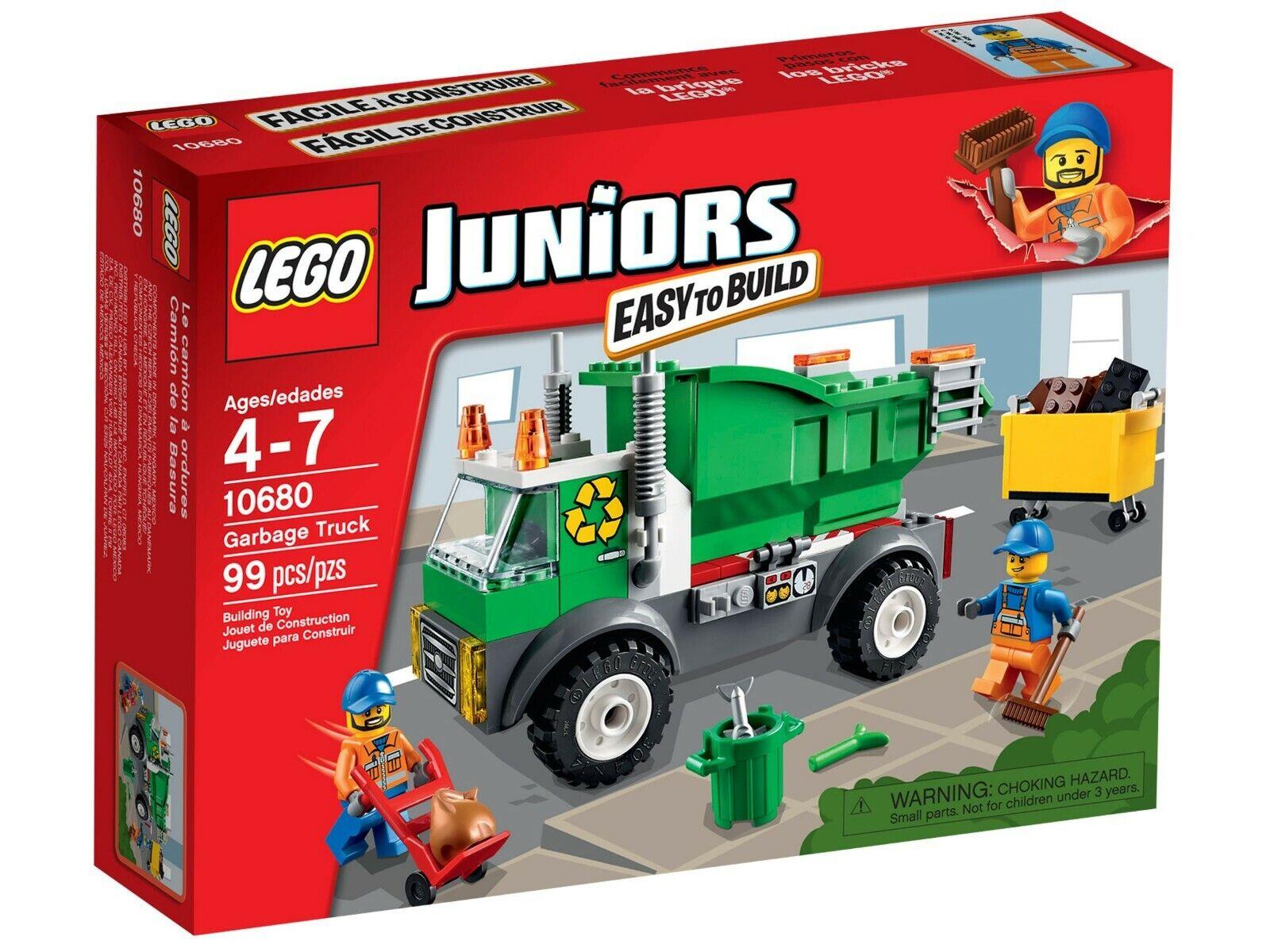 LEGO ® 4 Juniors  10680 raccolta dei rifiuti-Nuovo Scatola Originale  risparmia il 60% di sconto e la spedizione veloce in tutto il mondo