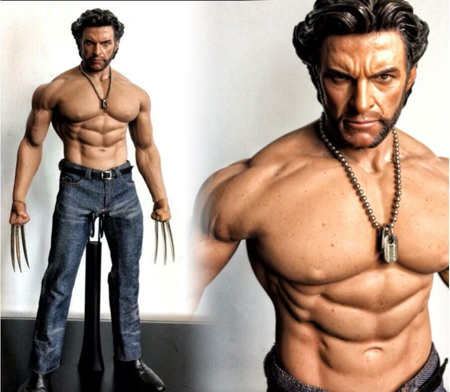 1 6 KO X-Men Origins Wolverine Logan traje Hugh Jackman Set Figura De Acción TOYS