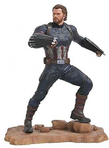 Diamond Select Toys Marvel Captain America PVC Diorama 9  Figure Infinity War