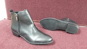 a8fbd7c8eefce New Womens Chaps Sabra Heeled Zip Up Dress Ankle Boots Style 11424 ...