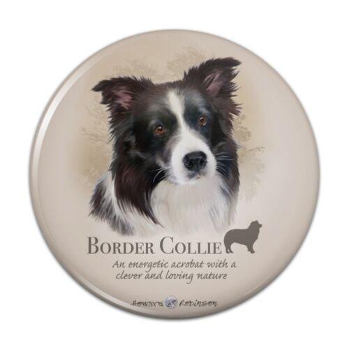 Border Collie Dog Breed Kitchen Refrigerator Locker Button Magnet