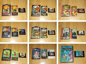 Juegos Sega Genesis Mega Drive U S A Elige De La Lista