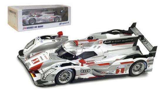 Spark 43LM12 Audi R18 e-tron quattro Le Mans Winner 2012 - 1 43 Scale
