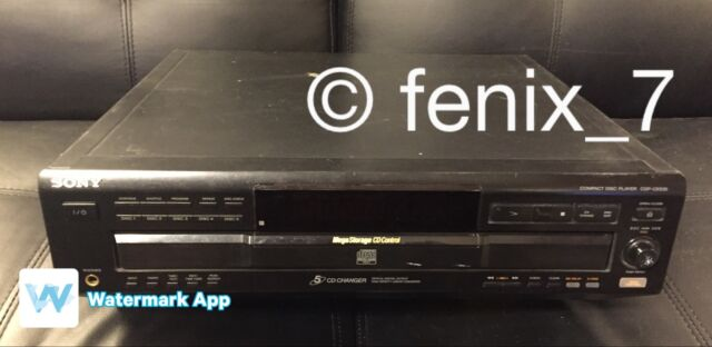 SALE | SONY Compact Disc Player Mega Storage 5 CD Changer CDP-CE535