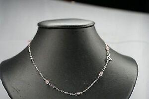 Echtschmuck-Damen-Halskette-Kette-K9-ca-42-cm-925-Silber-fein-Kugeln-Steine-NEU
