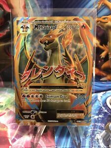Pokemon Mega M Charizard EX 101/108 FULL ART Ultra Rare XY Evolutions!