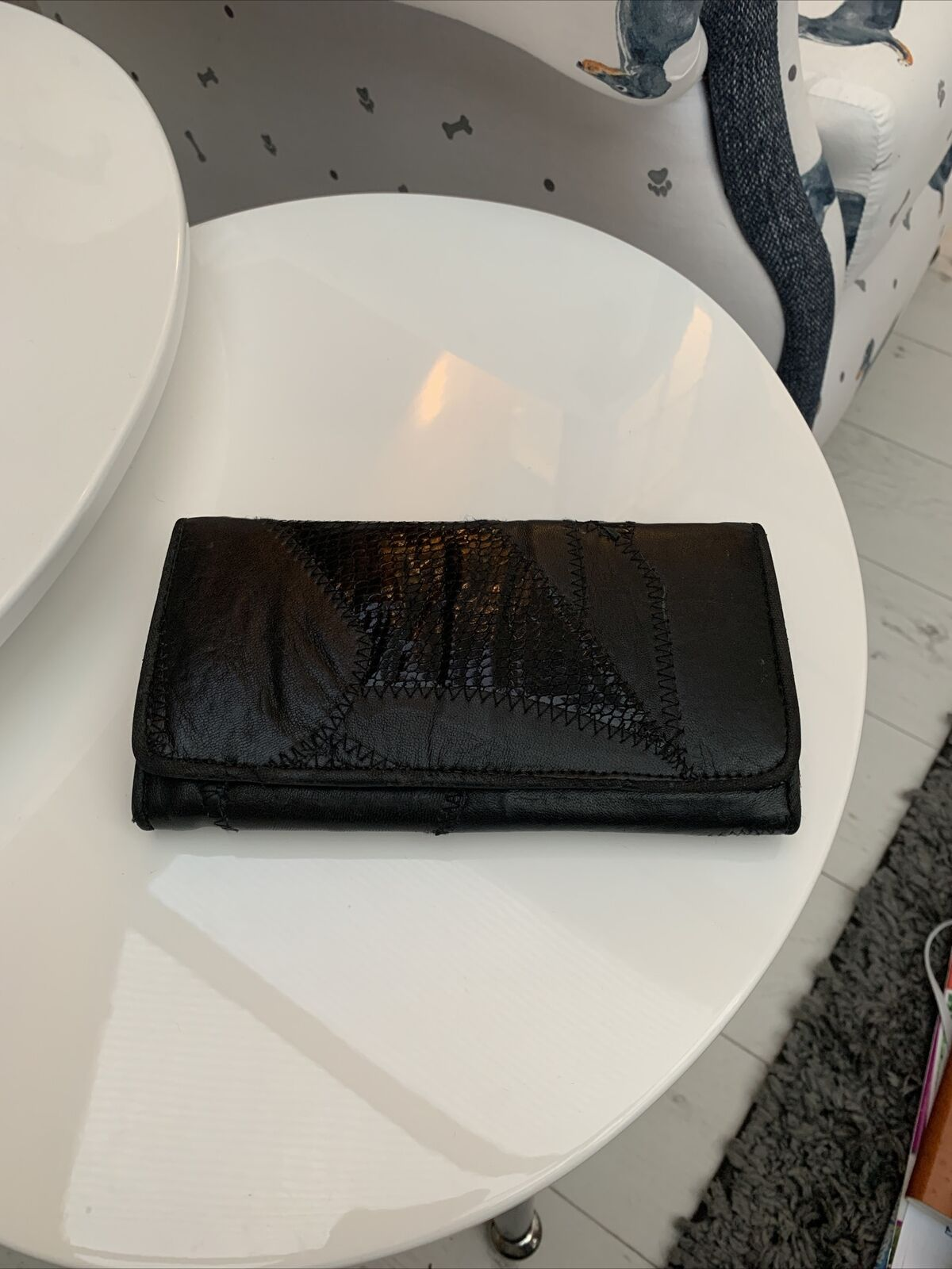 Leather Black Tommy And kate Purse